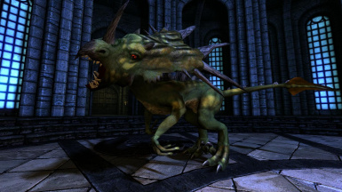Clannfear- Mihail Monsters and Animals (mihail immersive add-ons- oblivion daedra)