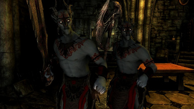 Xivilai- Mihail Monsters and Animals (mihail immersive add-ons- oblivion daedra- eso)