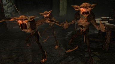 Scamps and Banekins- Mihail Monsters and Animals (mihail immersive add-ons- oblivion daedra- eso)