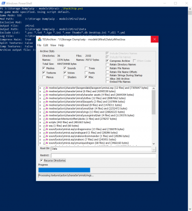 PackItUp - BSA BA2 PowerShell Archiving Script
