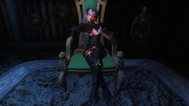 Feminine Jarl Sitting  Animation