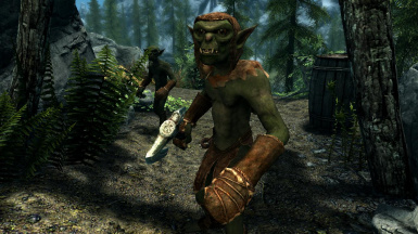 Goblins- Mihail Monsters and Animals (mihail immersive add-ons- oblivion- malacath)