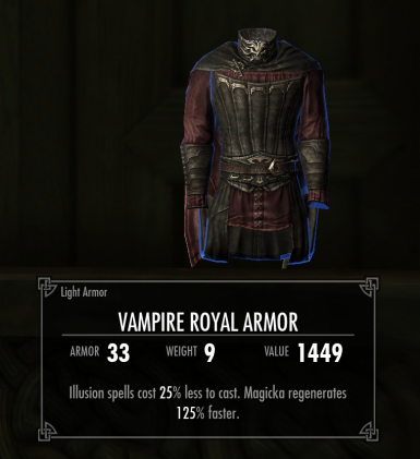 Improved Vampire Royal Armour