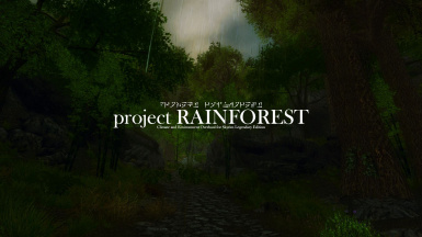Project Rainforest LE