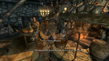 Merchants have bodyguards
