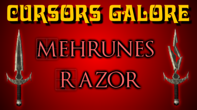 Cursors Galore Animated Mehrunes Razor