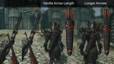 Better Daedric and Bound Arrows - Model Replacer