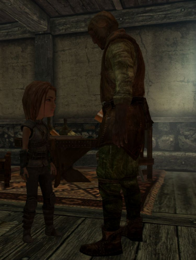 Standing next to a Nord