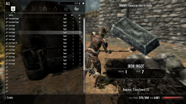 Smelter and 40 Iron Daggers - Equipment Recycling