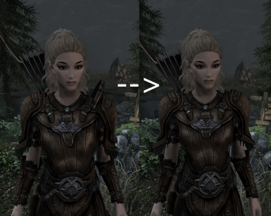 Comparison with Vanilla - No extruded pauldrons