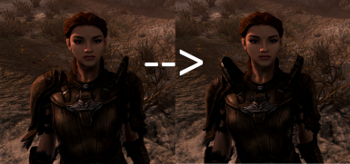 Comparison with Vanilla - Extruded pauldrons