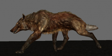 The Wolf you always wanted and deserved in Skyrim!