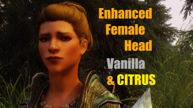Enhanced Female Head Mesh - Vanilla and CITRUS Heads