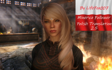 Minerva Custom Voiced Follower High Elf - Polish Translation