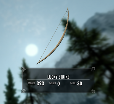 Lucky Strike - The Only Bow you'll ever need