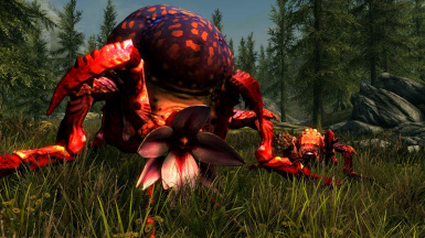 Arachas- Mihail Monsters and Animals (mihail immersive add-ons- witcher arachnoid- spider)