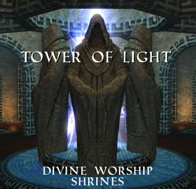 Tower of Light - Temple for the Nine Divines and Magnus plus Player House