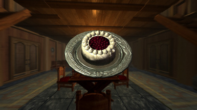 New food example : cake