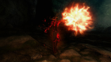 Draugr Witch (Fire)