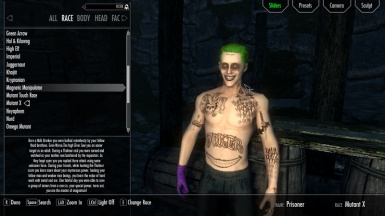 joker body armor