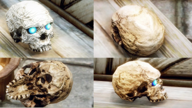 HD Saerek Skull Key