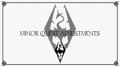Minor Quest Adjustments For The Good Guys