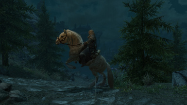 The Horse you always wanted in Skyrim from the start!