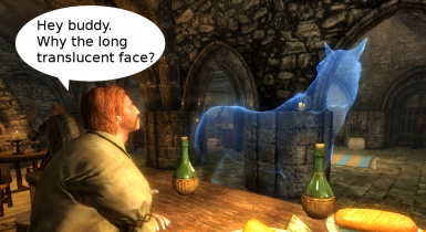 Conjure Rideable Ethereal Horse Spell at Skyrim Nexus - mods