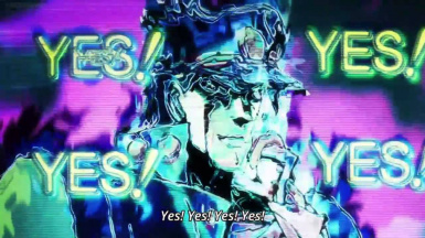 JBA - Jotaro yes yes level up - sound remplacer