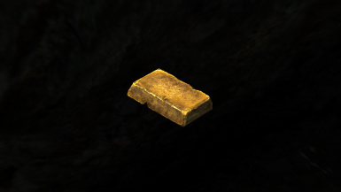 Gold Ingot with the HD Cubemap