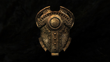 aMidianBorn Dwarven shield with the Cubemap