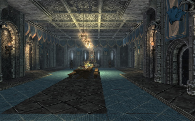 Palace of the kings with default ambient fog