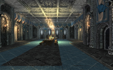 Palace of the kings without ambient fog - using this mod
