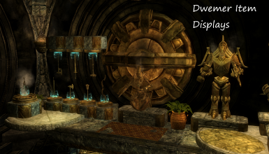 Lost Dwemer Repository - Player Home with Dwemer Displays