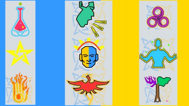 Colored And Animated Celtic Icons For SkyUI