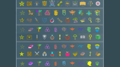 SkyUI Colored Category Icons