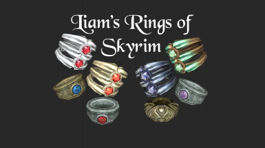 Liam's Rings of Skyrim