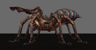 Absolute Arachnophobia enhances stance and enlarges legs!