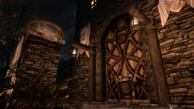 Magnificent Riften Mistveil Keep Door