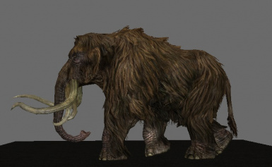 Mighty Mammoths adjusts head & shoulders for an enhanced appearance!