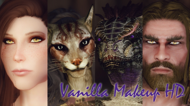 Vanilla Makeup HD - HD Racial Colors and Makeup for all Races and Genders