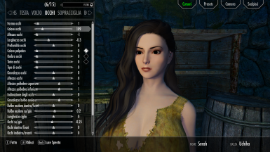 m Female (Breton) Uchiha Race Menu Preset for Mixed Eyes