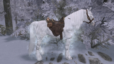 PermaFrost - Frost Mesh Replacer (Swift Steeds - White Glowing Eyes)