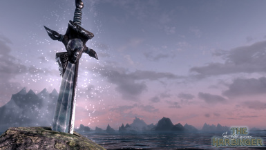 Legendary sword- The Harbinger