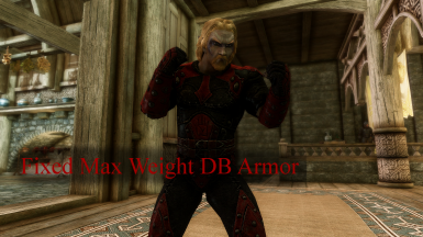 Fixed Max Weight Dark Brotherhood Armor
