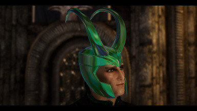 Loki Armory - Helm Option