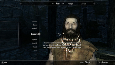 Dwemer Race updated.