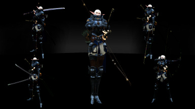 1HM DW MAGIC H2H 2HM BOW AND MT ANIMATIONS SET REPLACER (363 ANIMATIONS IN TOTAL)