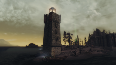 FadingSignal's Solstheim Lighthouse for LE