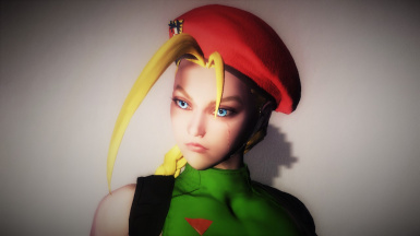 (Street Fighter) Cammy White Custom Voiced Follower